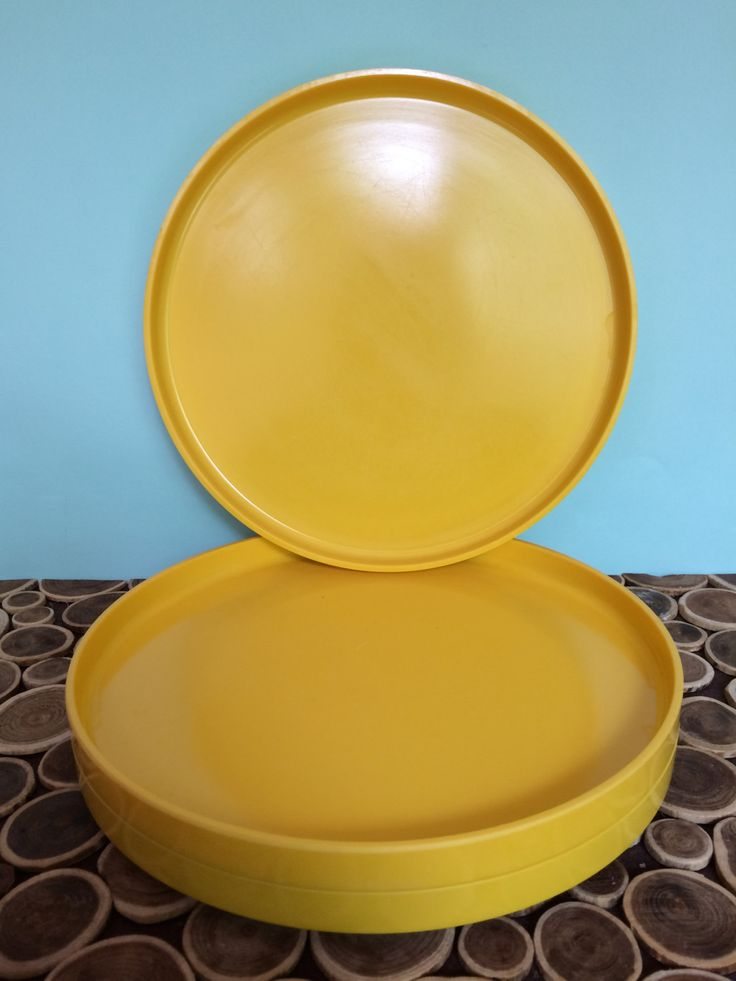 Yellow Art Deco Kitchen Table With Boomerang