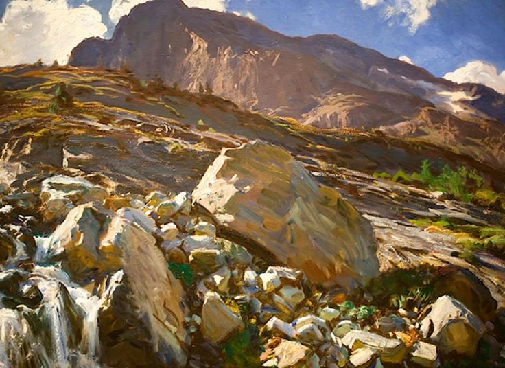 John Singer Sargent | Oil paintings of landscapes | Pinterest | John ...