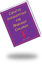 CREATIVE INTERVENTIONS FOR BEREAVED CHILDREN:   A uniquely creative compilation of activities to help bereaved children express feelings of grief, address self-blame, commemorate the deceased, and learn coping strategies. Includes activities for children dealing with the suicide or murder of a loved one. GET 20% DISCOUNT WITH CODE PC14 at www.lianalowenstein.com  #grief, #bereavement, #suicide, #homicide, #therapy, #counseling, #play therapy, #family therapy, #social work