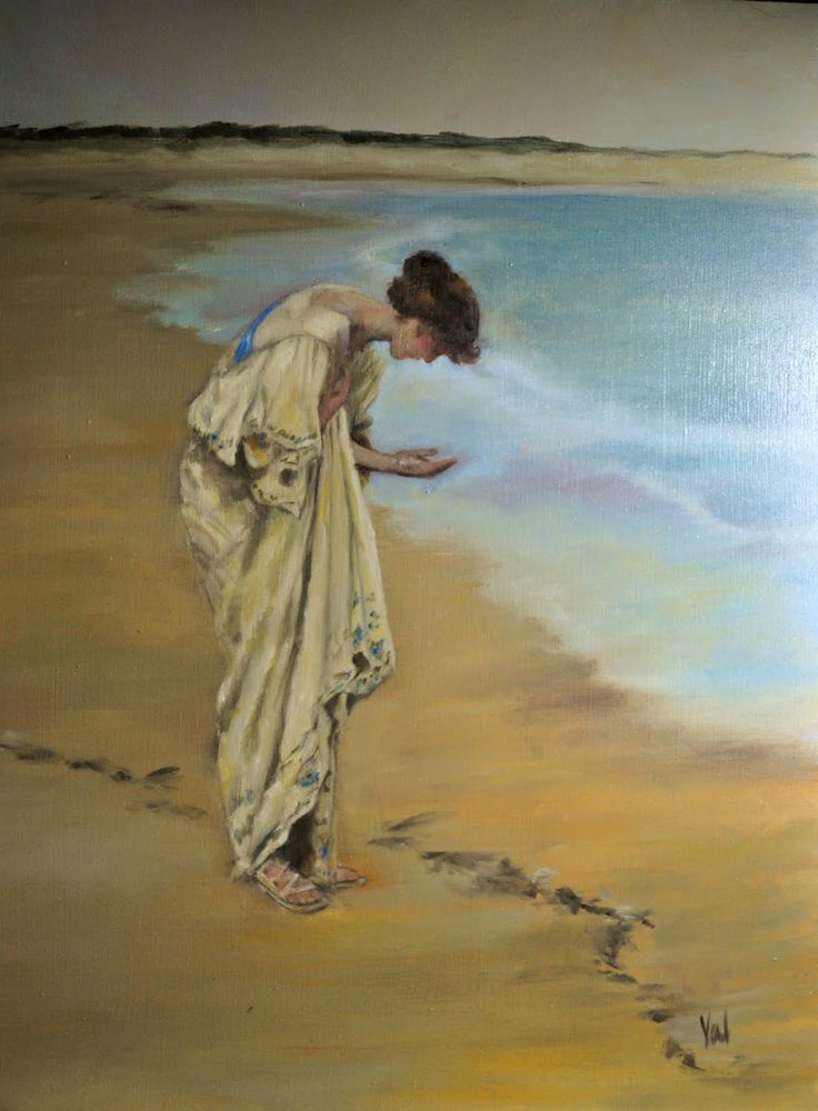 The Sea Hath Its Pearls ~ William Henry Margetson (1861-1940) - 1897