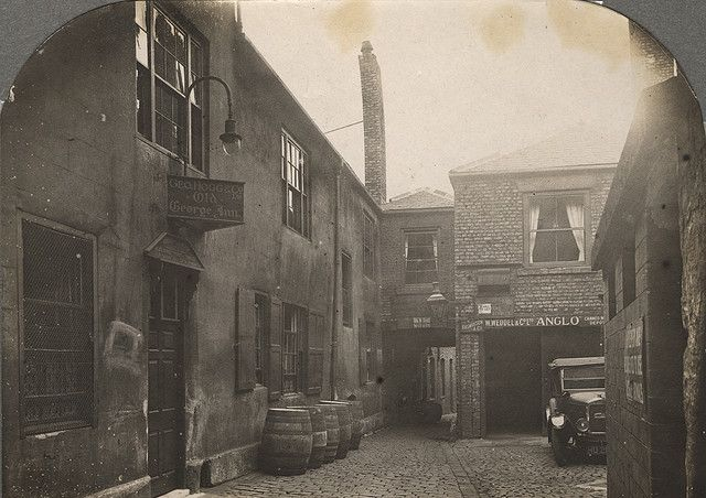 The Old George courtyard, Newcastle upon Tyne