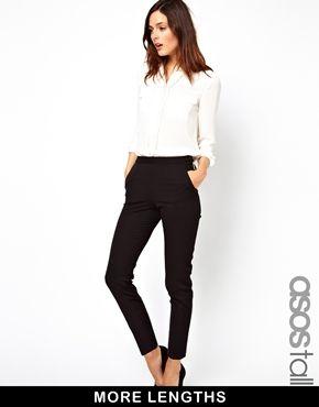 ASOS TALL Pants With Zip Detail