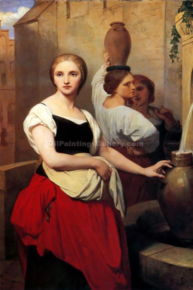 Margaret at the Fountain by Ary Scheffer