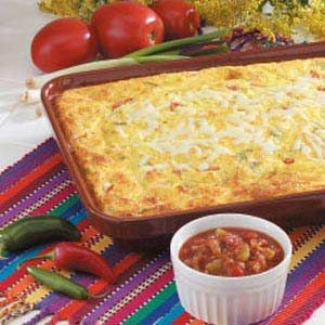 Mexican Egg Casserole Recipe   Taste of Home Recipes