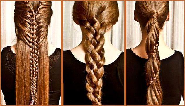 Модная прическа «коса змейка»: плетение | Женские прически и стрижки, уход за волосами, красота и мода