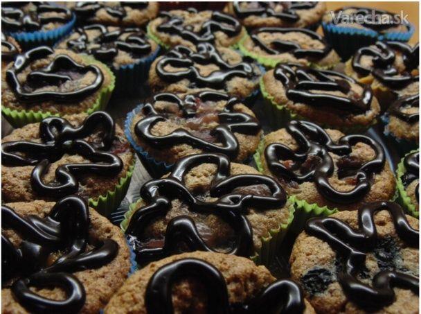Ovocné muffinky bez múky a cukru - Recept