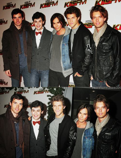 Pretty Little Liars Boys Left to Right top, Ezra, Lucas, Caleb, Toby, and Jason