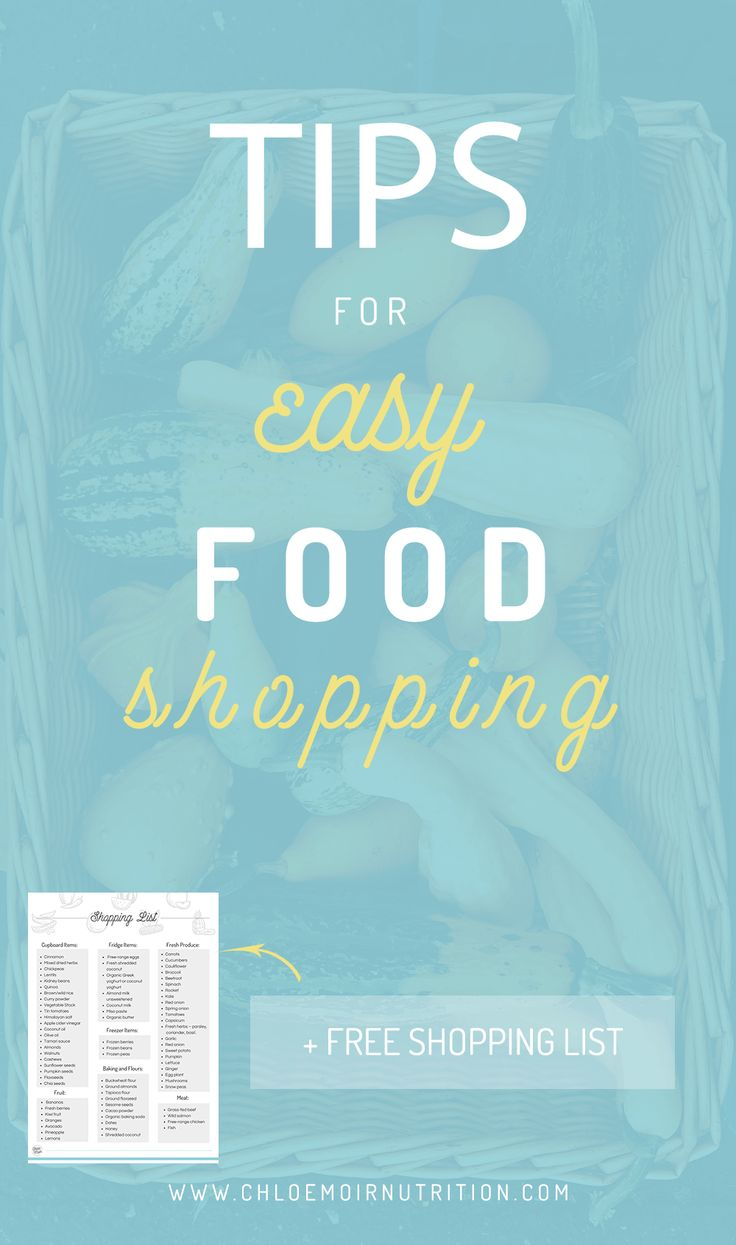 Tips for Easy Food Shopping with a Free Shopping List   Nutrition Tips | Health Tips | Advice | Diet Tips | Fitness Tips | Weight Loss Tips | Natural | How to Lose Weight | Easy Weight Loss | Easy Health | Lose Fat