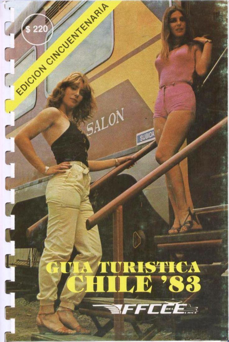 Guia Turistica Chile ´83 FFCCE Edición Cincuentenaria