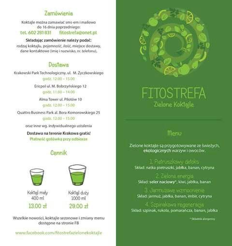 Zielone koktajle