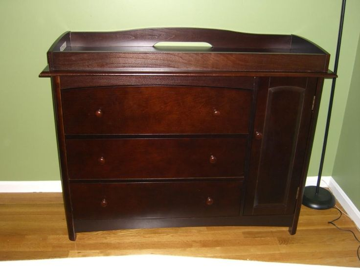 Amazing Cherry Changing Table Dresser Combo