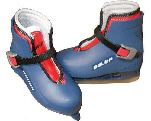 Bauer Lil champ ice skates boys/youth  toddler sizes from 6-13 (New) #Bauer
