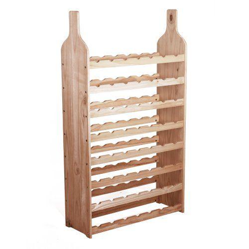 Miadomodo® WRGL03 Mediterranean Wine Rack: Amazon.co.uk: Kitchen & Home