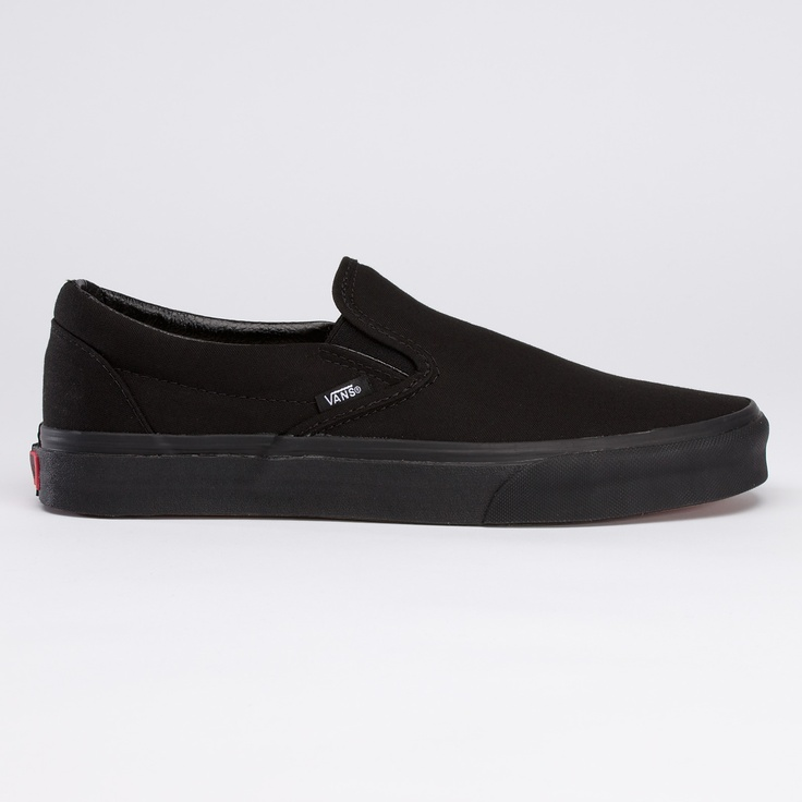Classic All Black Slip-On from Vans. Own Some.