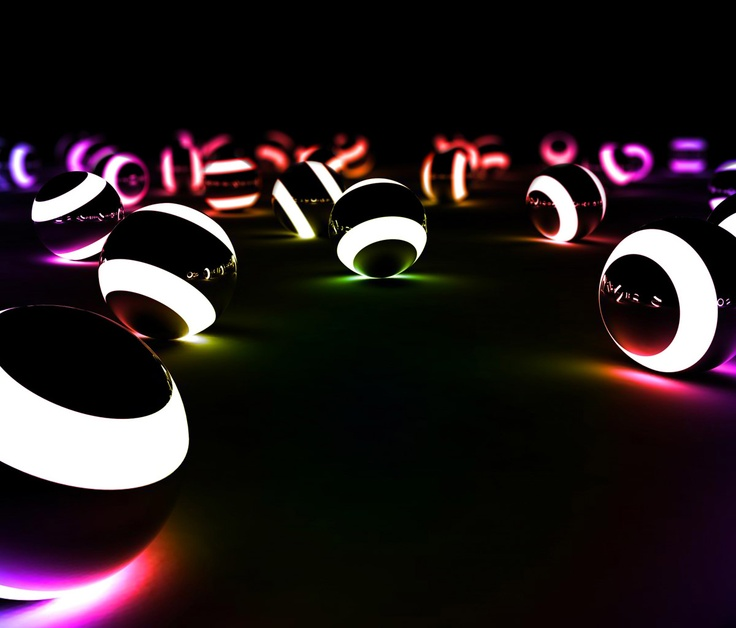 Glowing Pool Balls. I WOULD LOVE TO FIND THESE, Keep Your