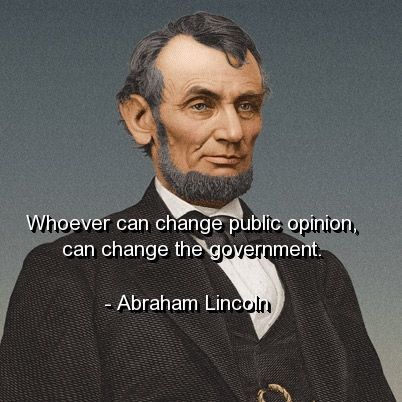 My opinion on abraham lincoln