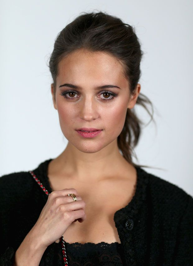 Alicia Vikander. Literally one of the most beautiful people I've ever seen. <3