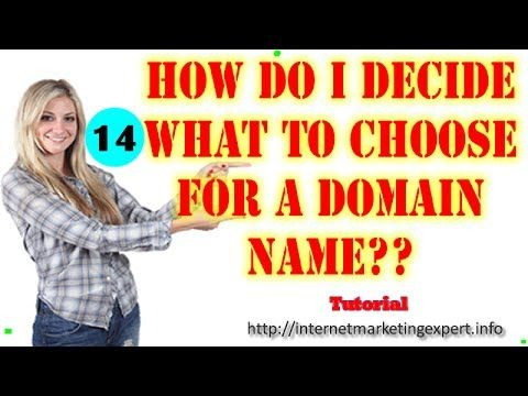 A must watch video: Web Hosting Tutorial For Beginners - How do I decide what to choose for a domain name? - http://www.the-domain-name-checker.com/a-must-watch-video-web-hosting-tutorial-for-beginners-how-do-i-decide-what-to-choose-for-a-domain-name