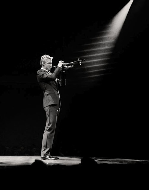 Jazz trumpeter Chris Botti. His music is like poetry.