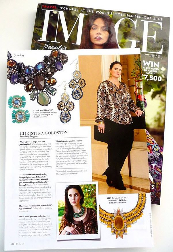 ChristinaBelle and Christina Goldston featured in Nov 2014 Image Magazine.