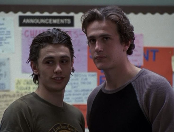 freaks and geeks. Love me some baby James Franco and Jason ...