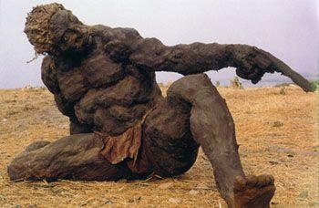 Ousmane Sow sculpture