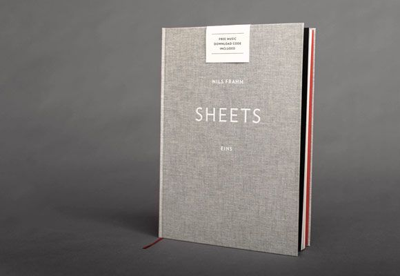 Nils Frahm – Sheets Eins (Deluxe Hardback Book) includes Download Card