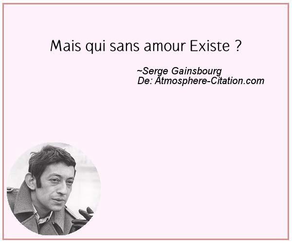 Mais qui sans amour Existe ? Trouvez encore plus de citations et de dictons sur: http://www.atmosphere-citation.com/populaires/mais-qui-sans-amour-existe.html?