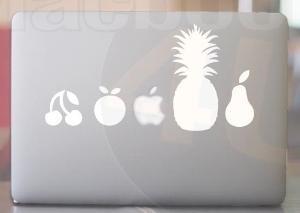 Fruit Line Vinyl Decal sticker for MackBook 11'' by macbookdecal4u
