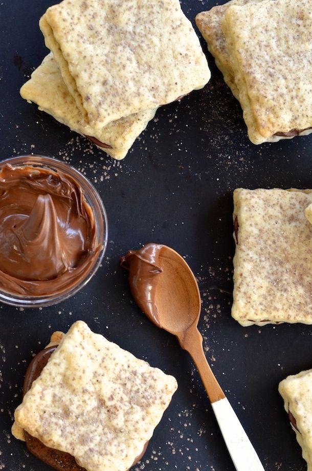Nutella Shortbread Sandwiches | Forgiving Martha for Camille Styles @camillestyles @forgivingmartha