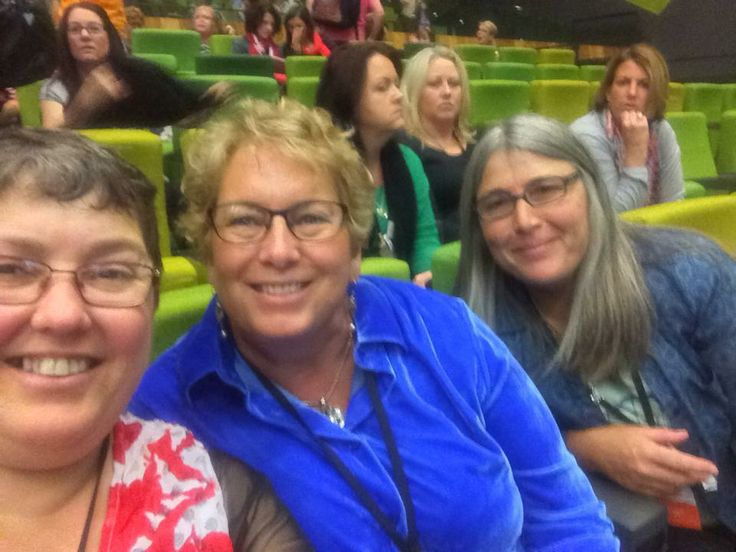 Delys, Pam and Andrea at Stampin' Up! Convention