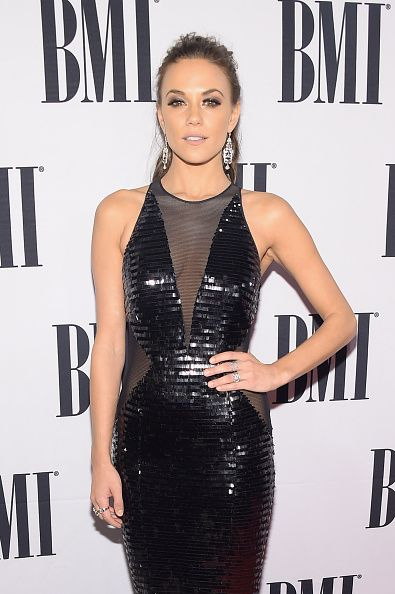 Jana Kramer at the 62nd Annual BMI Country Awards. Makeup by Kelsey Deenihan.