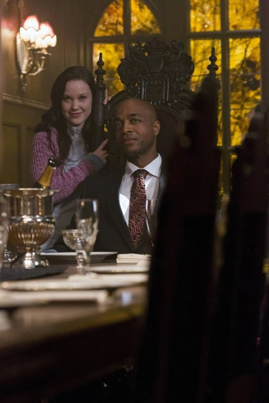 Still of Rick Worthy and Laci J Mailey in Supernatural