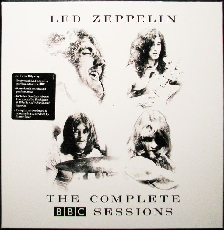 Northern Volume - Led Zeppelin - The Complete BBC Sessions (Remastered 180g Vinyl 5LP Record Box Set), $134.95 (https://www.northernvolume.com/led-zeppelin-the-complete-bbc-sessions-remastered-180g-vinyl-5lp-record-box-set/)