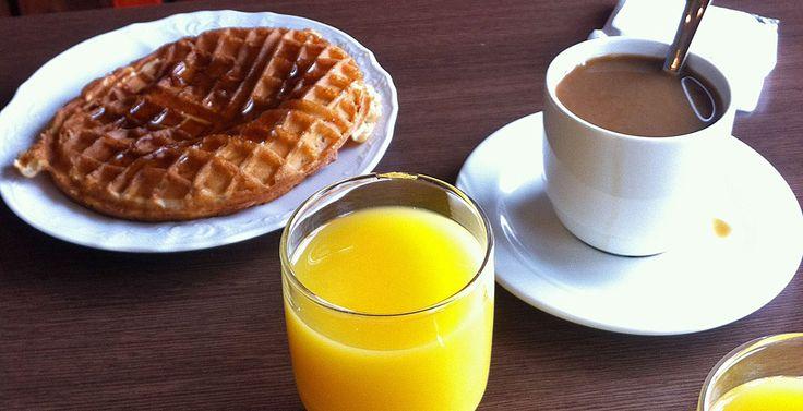Breakfast on Iceland