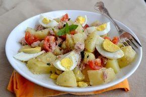insalata freda,insalata di tonno,insalata tonno e patate