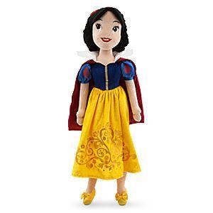 Disney Poupée en peluche Blanche Neige | Disney StorePoup�e en peluche Blanche Neige - Avec cette peluche Blanche Neige, ils pourront s'amuser avec une c�l�bre princesse Disney. Elle comporte des d�tails f��riques tels qu'un ravissant visage brod�, un n%u0153ud en satin dans les cheveux et une robe scintillante imitation velours avec cape.
