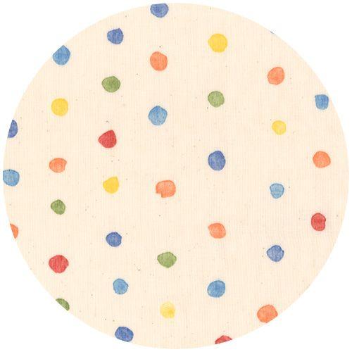 Naomi Ito for Nani Iro, DOUBLE GAUZE, Colorful Pocho Multi  --  $11 per yd.