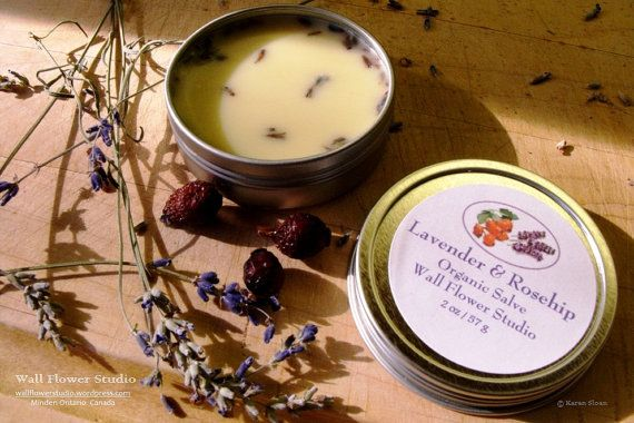 Lavender + Rose hip Skin Salve - Moisturize, sooth and protect our skin