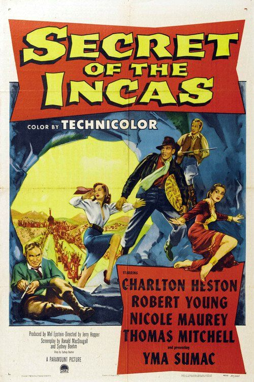 Watch Secret of the Incas (1954) Full Movie Online Free