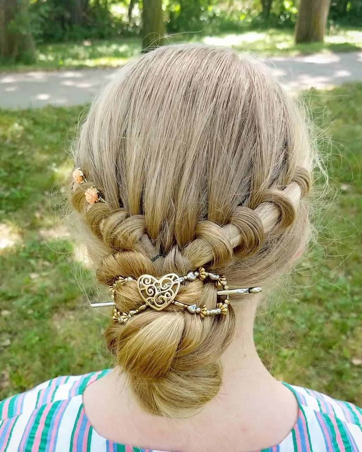 25 Brilliant Braided Updos For Fancy Occasions