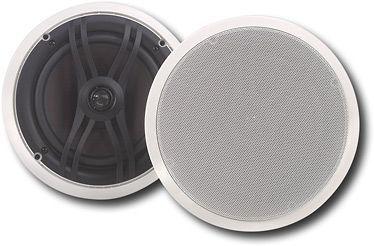 Yamaha - 2-Way In-Ceiling Speakers (Pair)