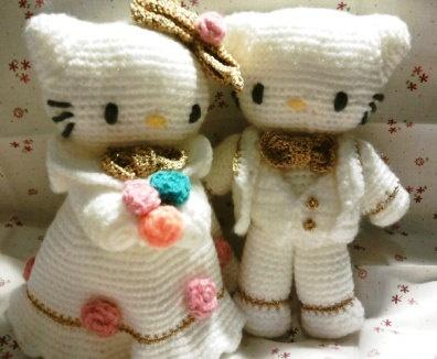 Amigurumi Cat Doll : 131 best wedding amigurumi images on pinterest crochet dolls
