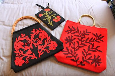 Kitty Olive, inspiradas nas flores e nas técnicas ancestrais dos bordados de Nisa