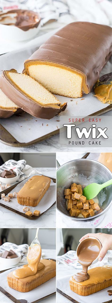 Easy to make delicious Twix cake