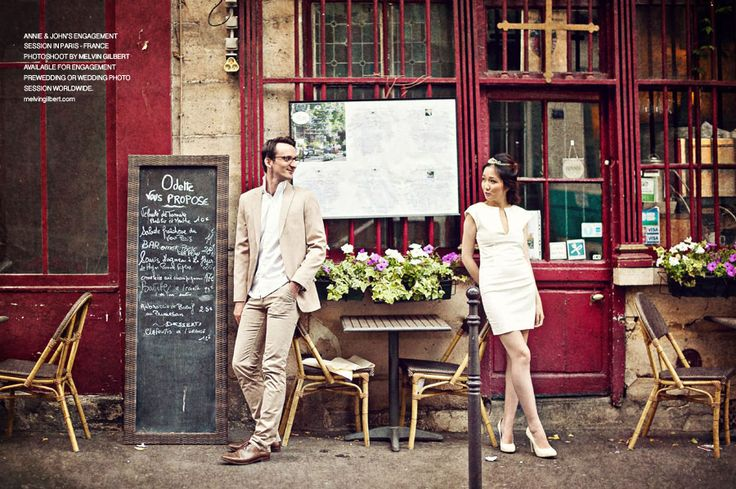 paris engagement prewedding photography wedding