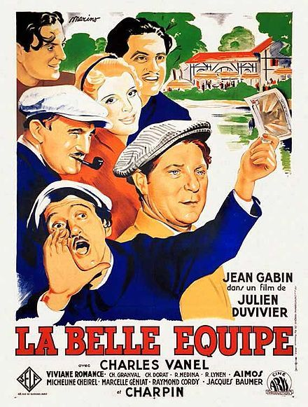 La belle équipe 1936 also known as They Were Five Julien Duvivier