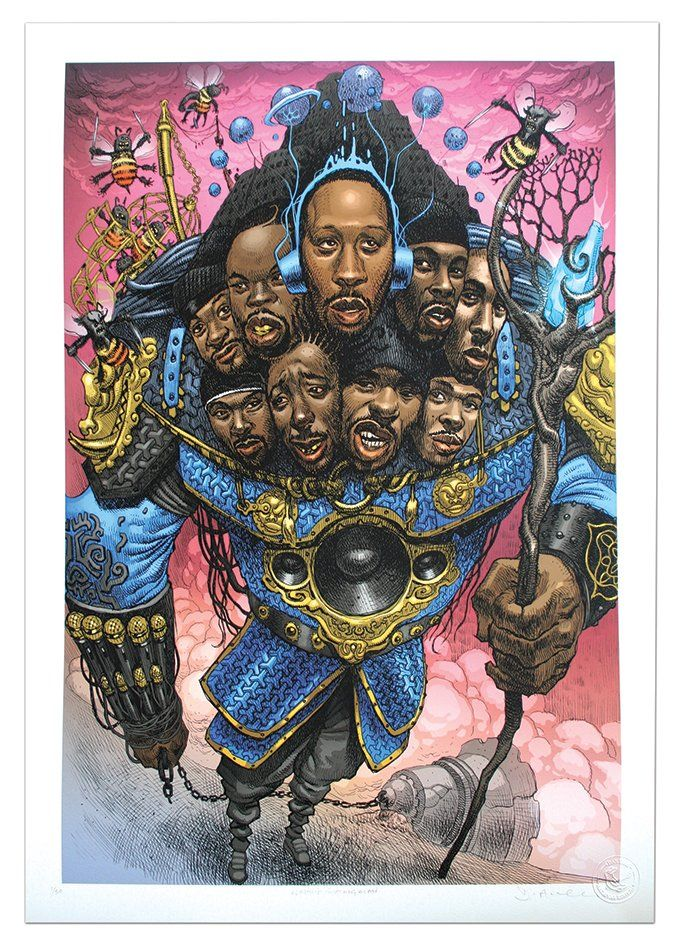 Image of Wu-Tang Clan - Limited Edition Giclee Print