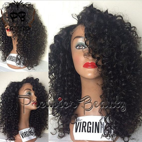 Freeshipping kinky curly human hair wig Lace font wig 100% human hair lace wigs with baby hair bleached knots kinky curly for black women