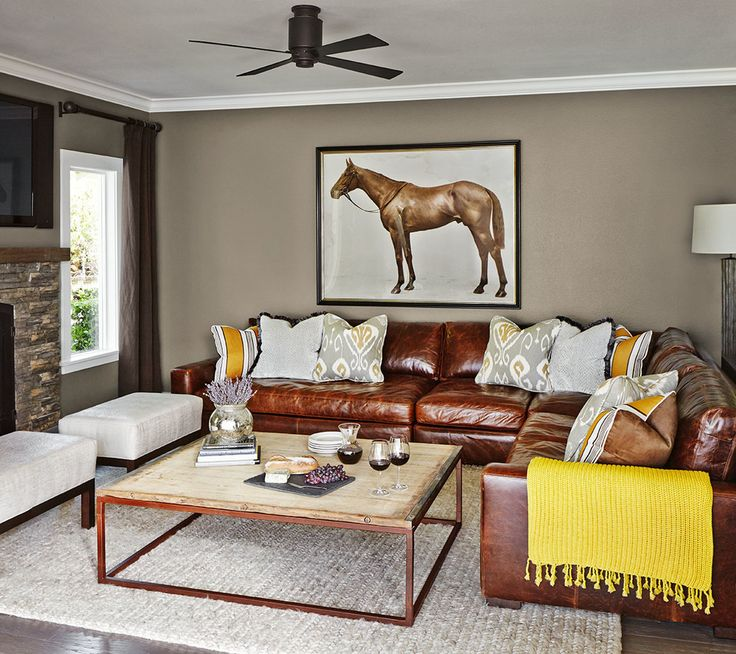 Amazing 11 Best The Brown Leather Sofa Images On Pinterest | Brown Leather Sofas  And Home Theater